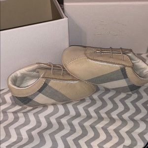 Baby Burberry shoes SOLD!!!
